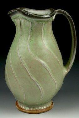 beautiful ceramic pitcher. mcgovernpottery.com