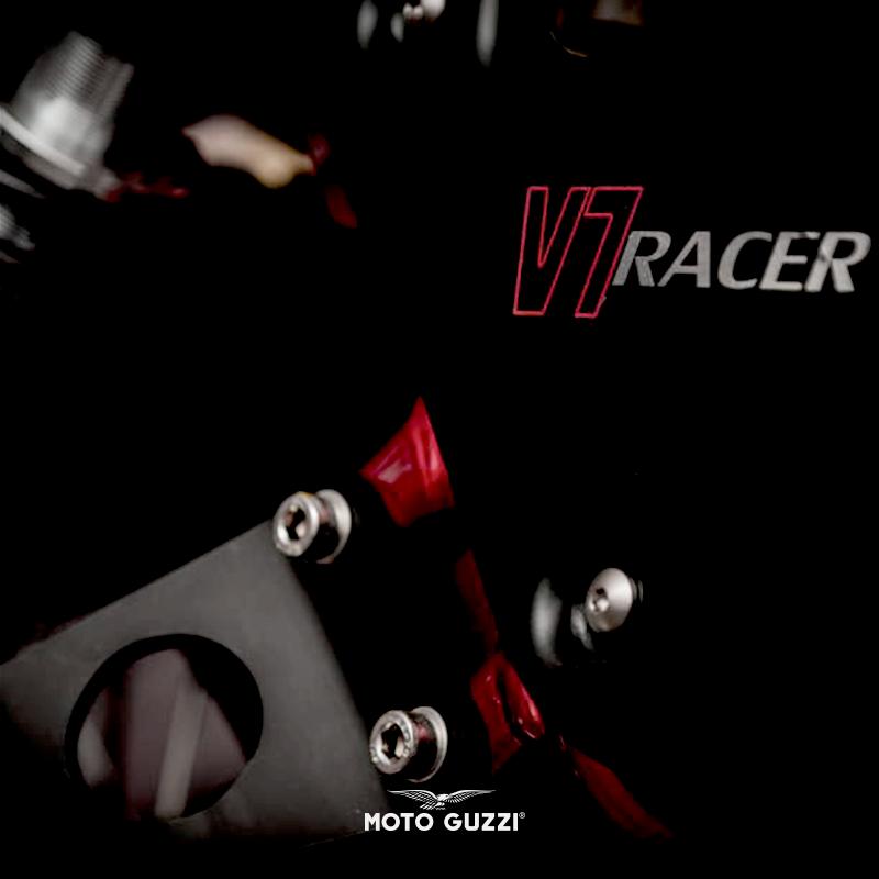 V7 Racer, And What's More. #motoguzzi #V7