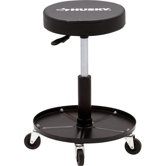 Heavy Duty Rolling Shop Seat With Images Shop Stool Garage Stool