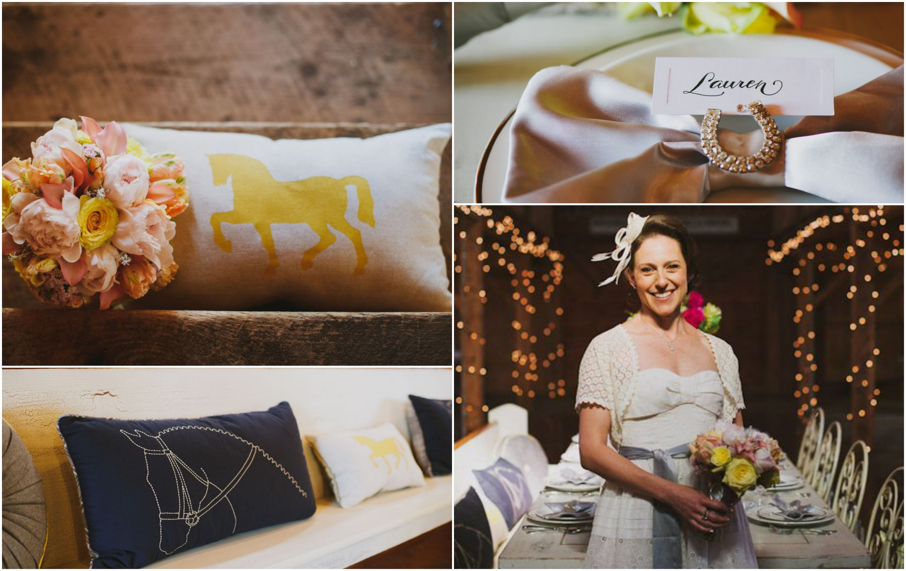 Derby Wedding Themed Styled Shoot Rustic Wedding Chic