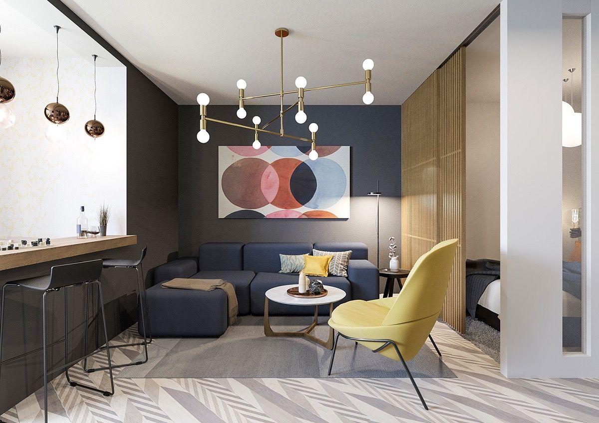 30 Wohnzimmer, die Design-Epochen übertreffen | Living rooms, Living ...