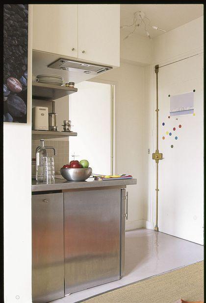 7 photos de petites cuisines craquantes mais fonctionnelles