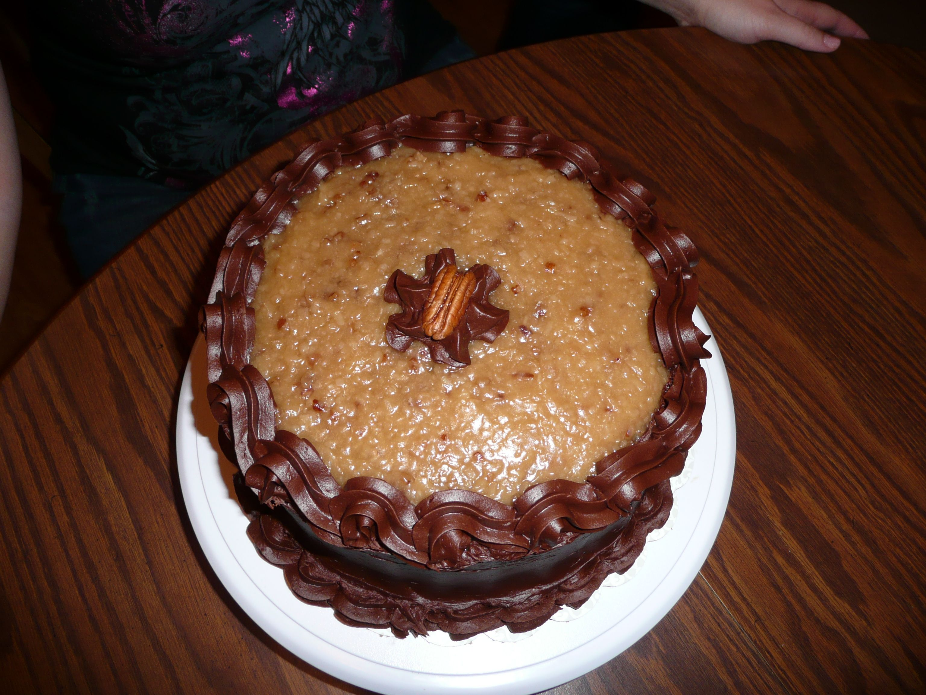 German Chocolate Birthday Cake This One Looked Pretty Good