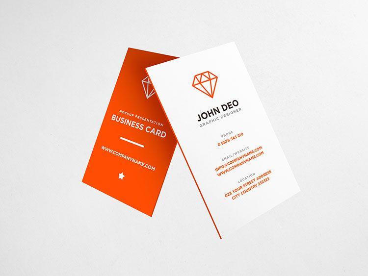 Elegant business card psd mockup mockup pinterest elegant elegant business card psd mockup reheart Images