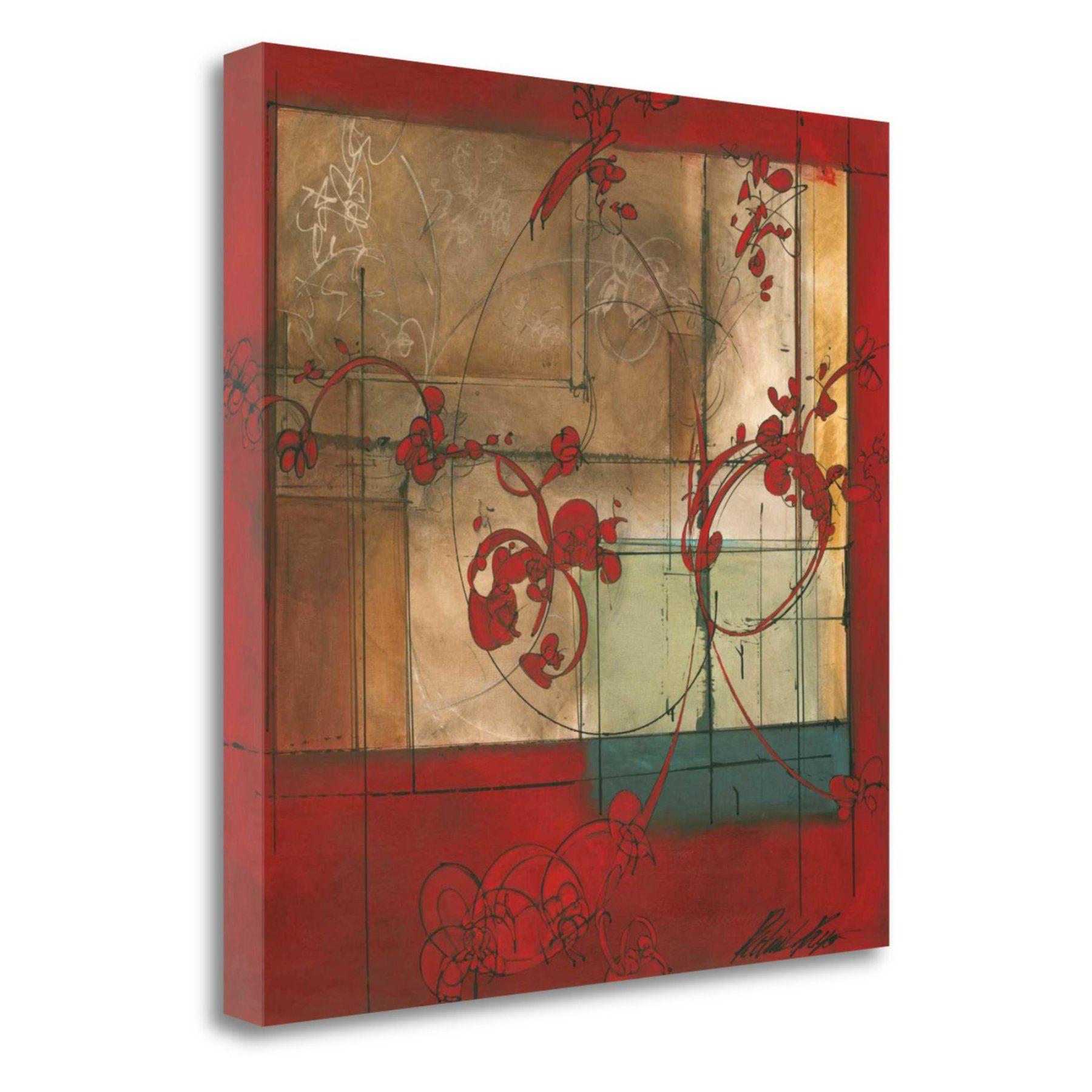 Tangletown Fine Art Amber Window Canvas Wall Art  Cappp900 2020C