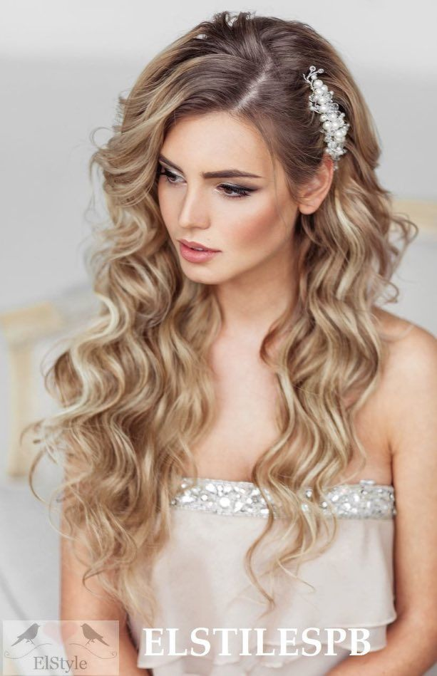 Wedding Hairstyle Inspiration | Weddings, Prom and Loose curls