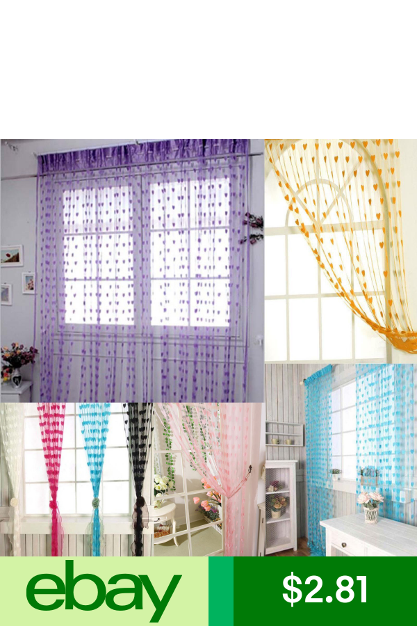 String Curtain Fringe Panel Decoration Room Divider 20: Pin On Products