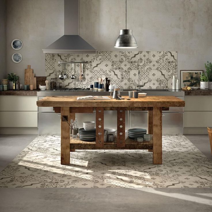 Marche ceramiche cementine cucina cerca con google for Cocinas espanolas modernas