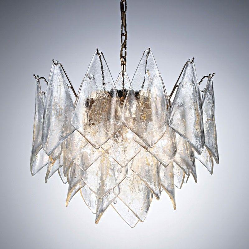 Modern \'handkerchief\' style glass chandelier   D灯   Pinterest ...