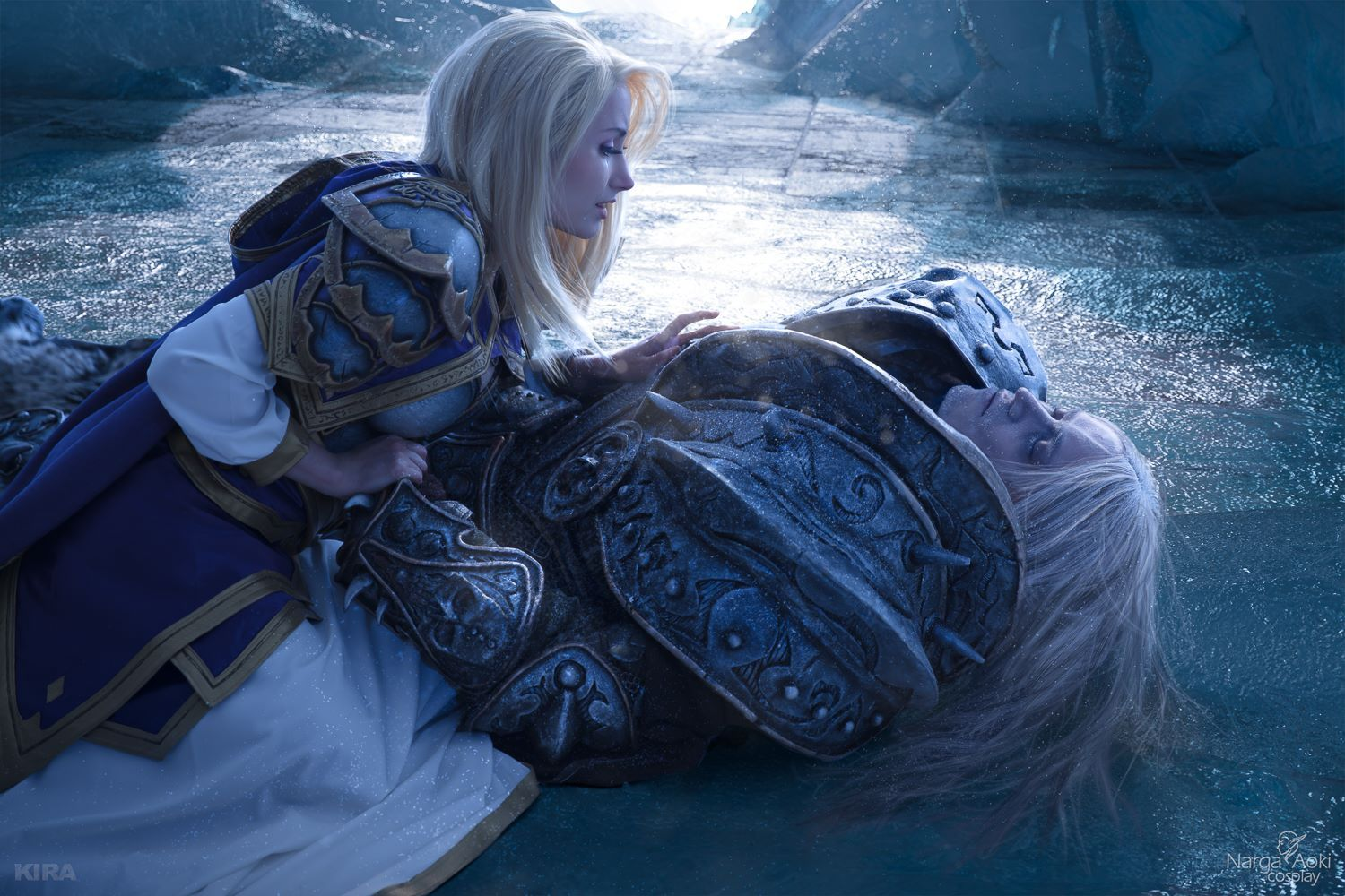 Jaw Dropping Arthas And Jaina Cosplay From World Of