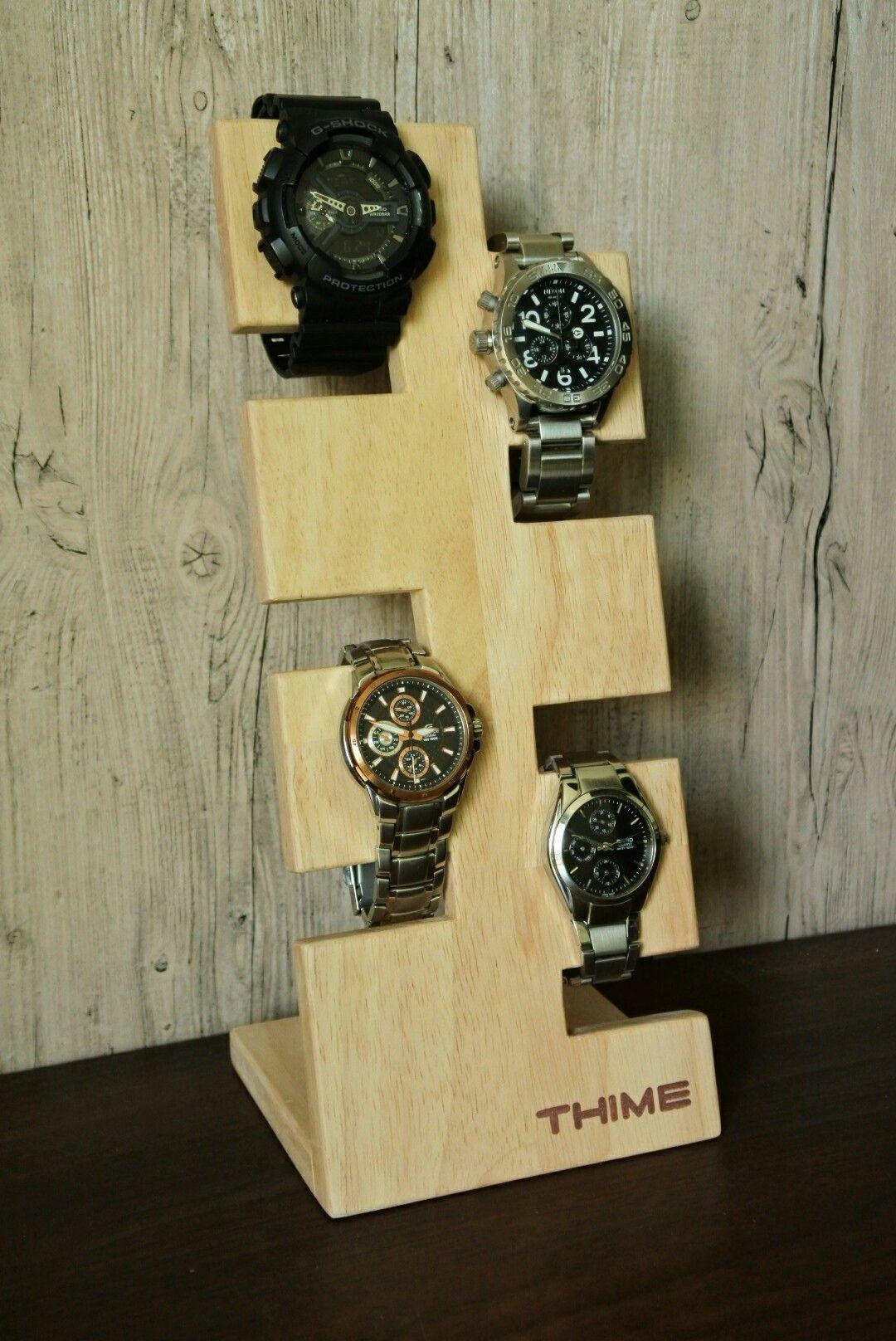 25 Beautiful Watch Holders Watch Holder Diy Watch Holder Leather Watch Holder