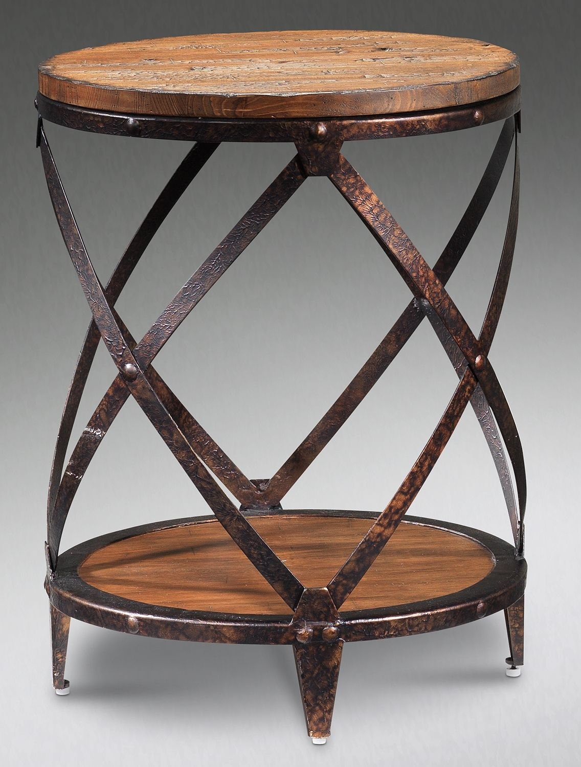 The Monroe Collection Round End Table Leons Furniture