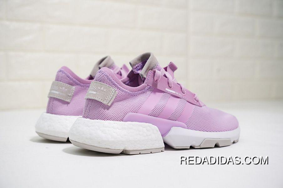 a35bb0d96501c8 Adidas Originals POD-S3.1 Boost B37469 Womens Running Shoes Clear Lilac Clear  Lilac-Orchid Tint Super Deals