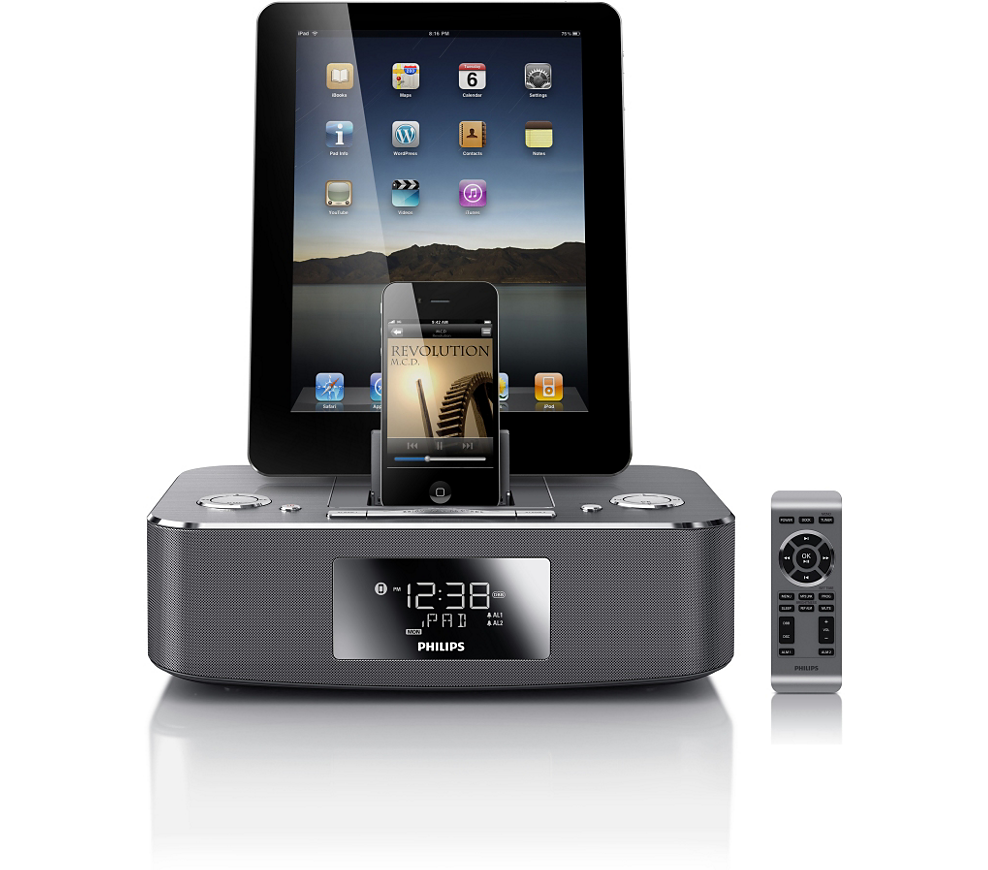 Buy The Philips Docking Station For Ipod Iphone Ipad Dc390 37 Docking Station For Ipod Iphone Ipad Docking Station Best Ipad Smartphone Projector