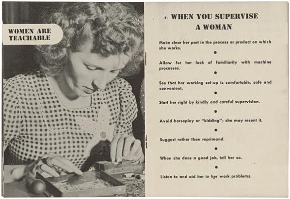 """'Women are teachable""""--just like your Golden Retriever. Or a monkey."""