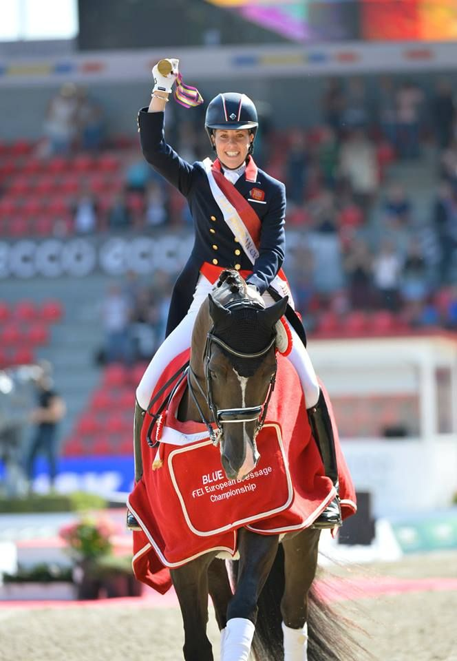 Charlotte and Valegro take out the European Championships !!