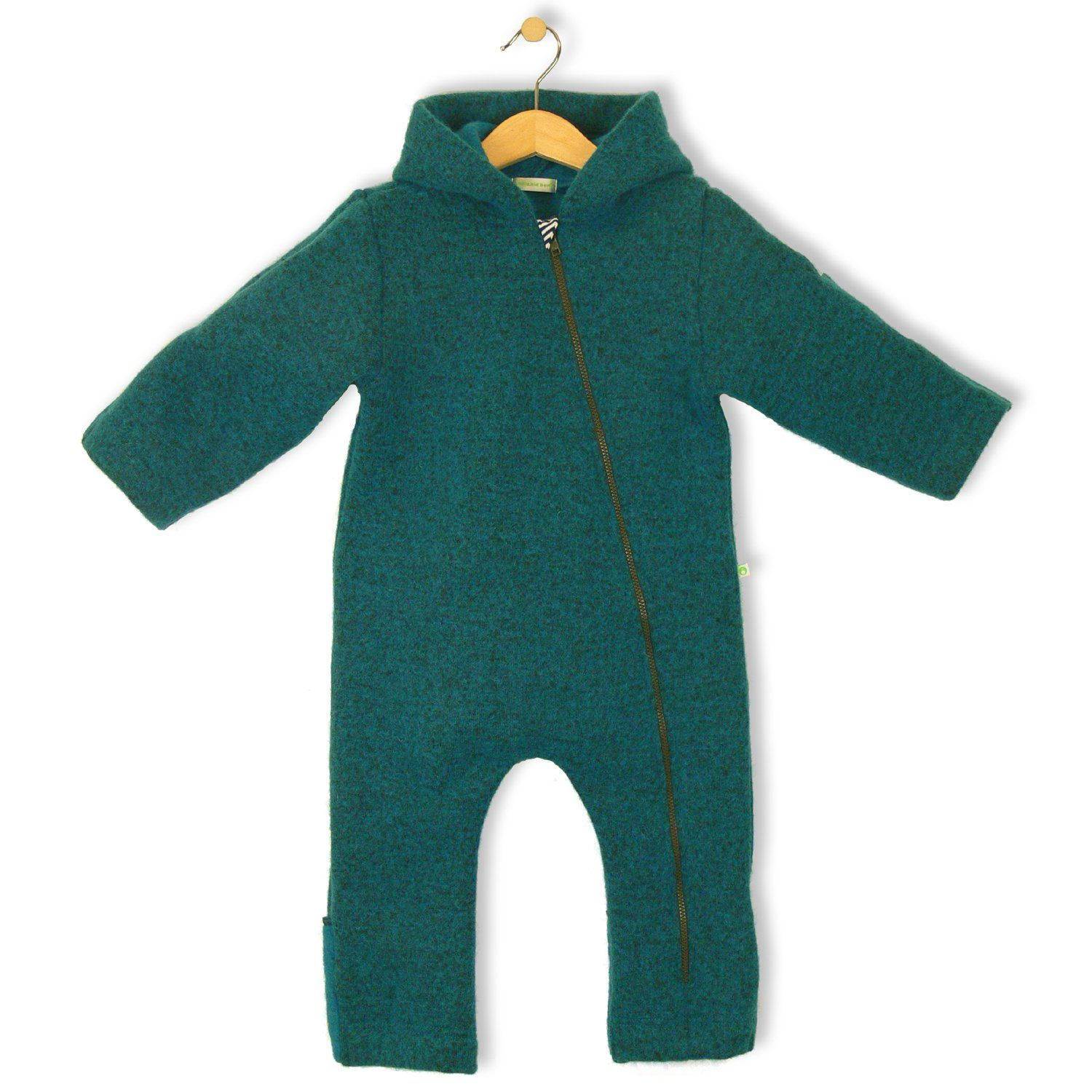 4a100da6c7 bubble.kid berlin - Unisex Baby Winter Overall ANU, Overall aus Wolle - Tec