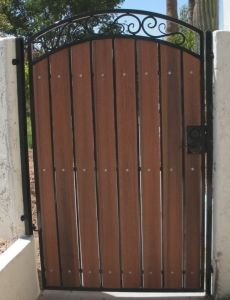 Another Color Combination Is To Use The Redwood Composite
