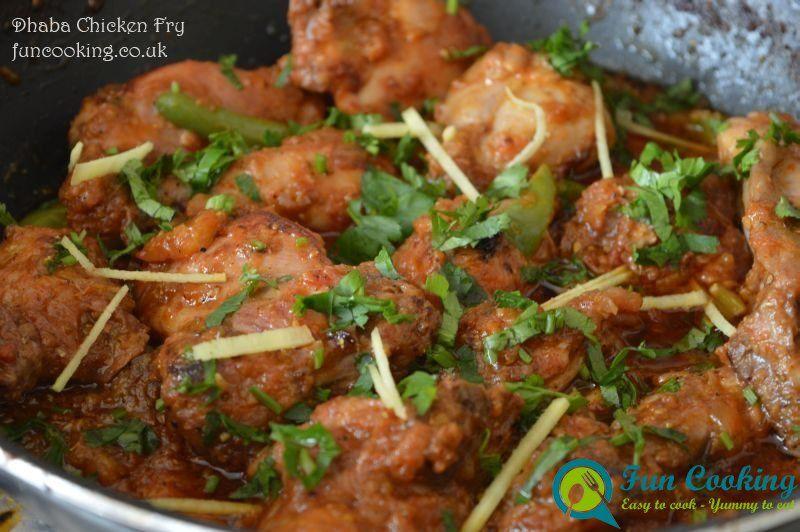 Dhaba Chicken Fry 225 Chicken Chicken Fried Chicken Chicken Karahi