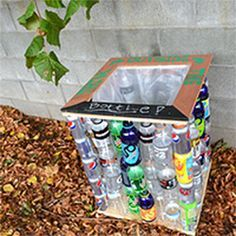 Kids could do this recycling project for earth day for Investigatory project recyclable materials