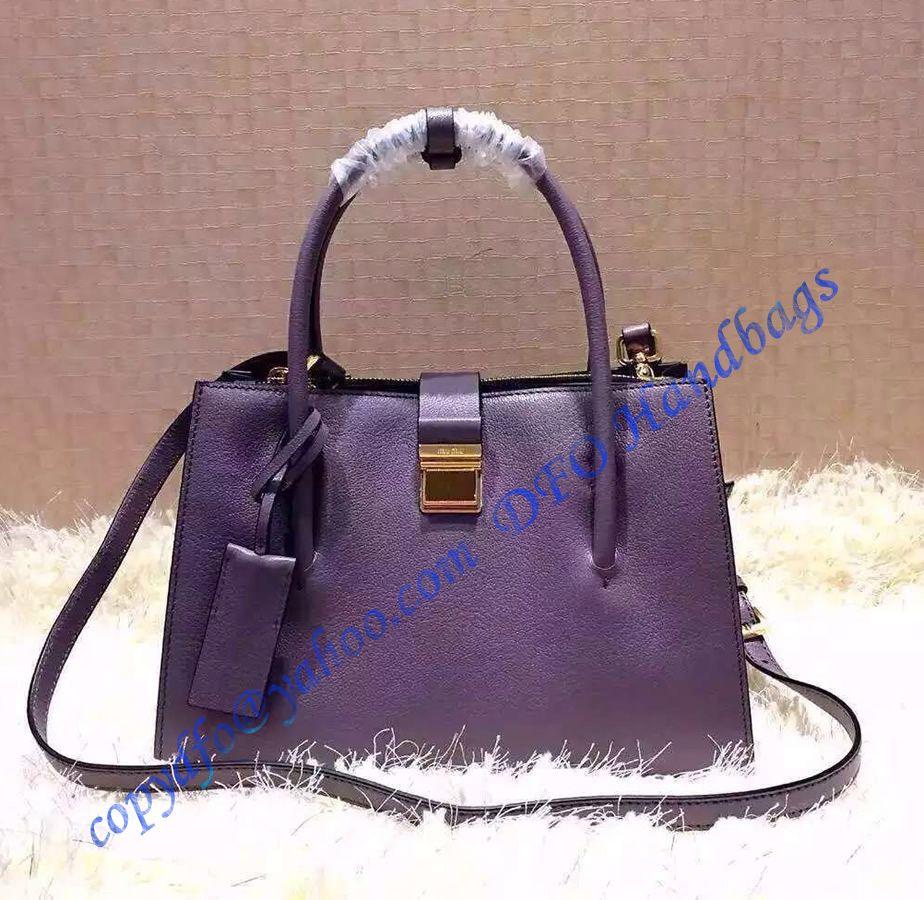Miu Miu Madras Tote Purple sale at USD373.00 - Free Worldwide shipping. Get  today Miu Miu Madras Tote Purple. 432a1f151276b
