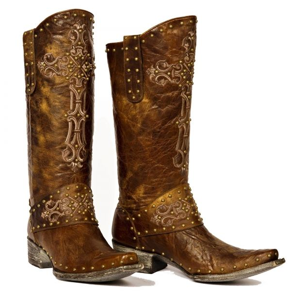 088a8df03dc OLD GRINGO KRUSTS WESTERN BRASS RIVETED BOOTS - $599.00 ...