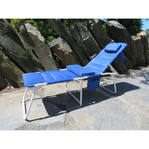 Ergo Lounger Cloud OH Deluxe Beach Lounger, Blue Marcel Wanders - sillas de playa