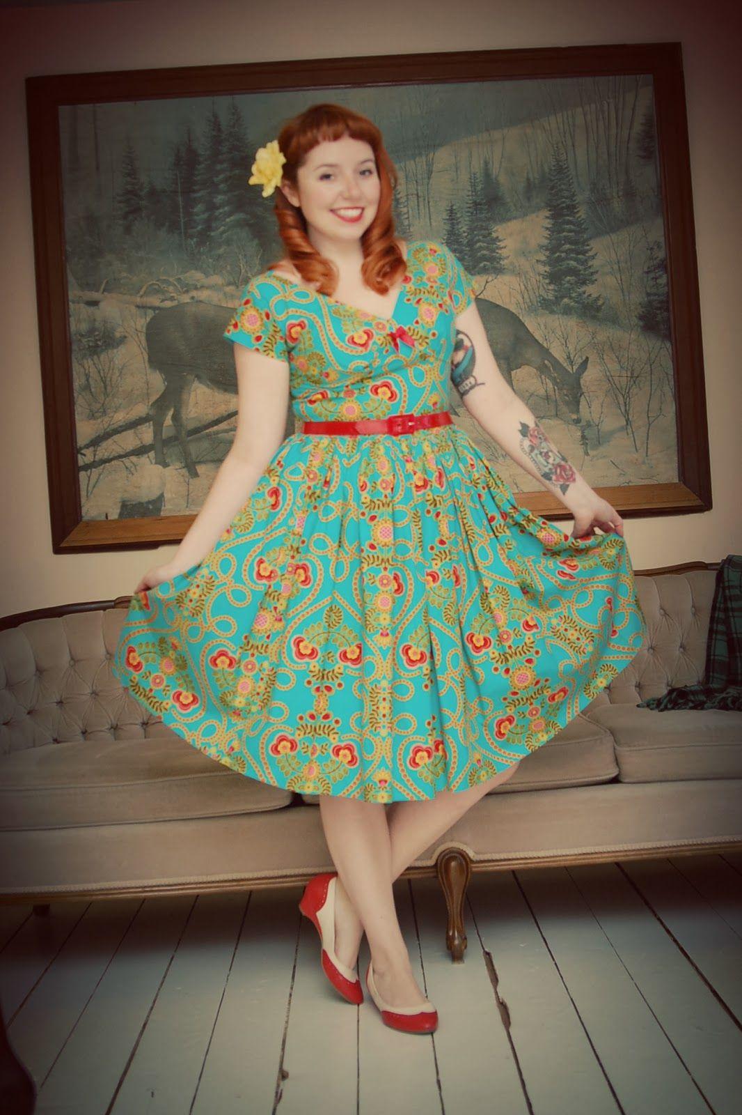 small town big smile bernie dexter jewel brint dress vintage box
