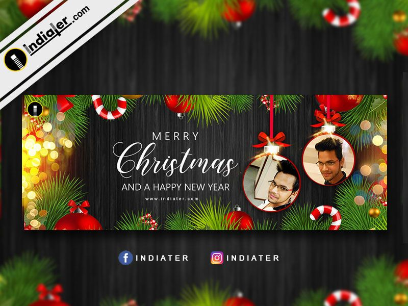 wishes merry christmas to all and a happy new year banner