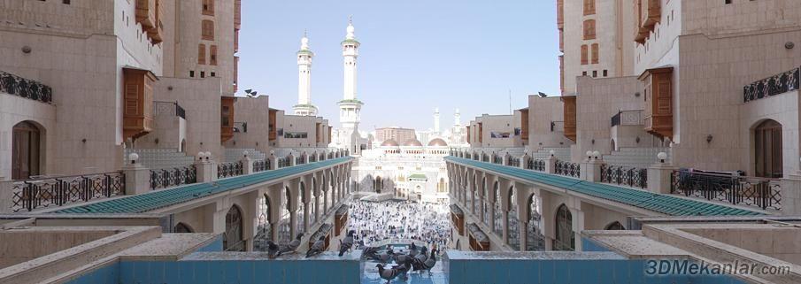Masjid al-Haram View 3d tour | ☪️Ka'abah, Makkah