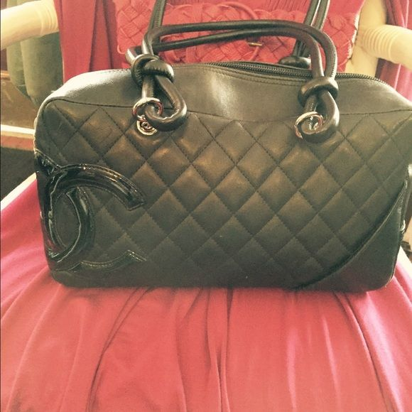 12647b0ba130 Chanel purse Chanel rue cambon handbag black on black , purchased at Neiman  Marcus, this particular bag discontinued 6 year ago. Own it CHANEL Bags  Satchels