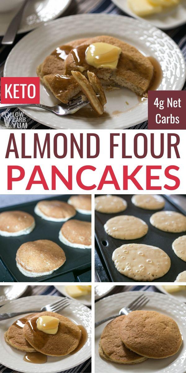 Almond Flour Pancakes (Keto, Low Carb)