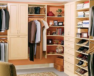 Elegant Sample Melamine Closet