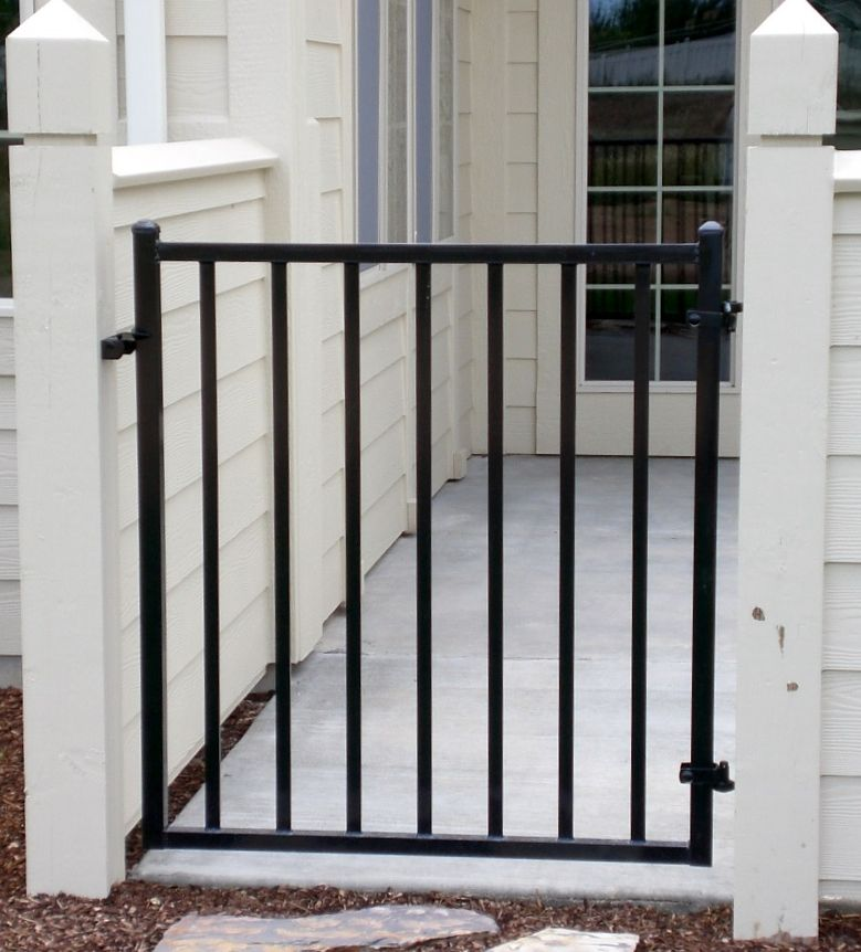 Standard Western Style Walk Gate Fabricated And Installed