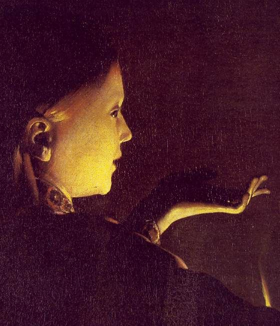detail - Georges de La Tour - The Dream of St Joseph