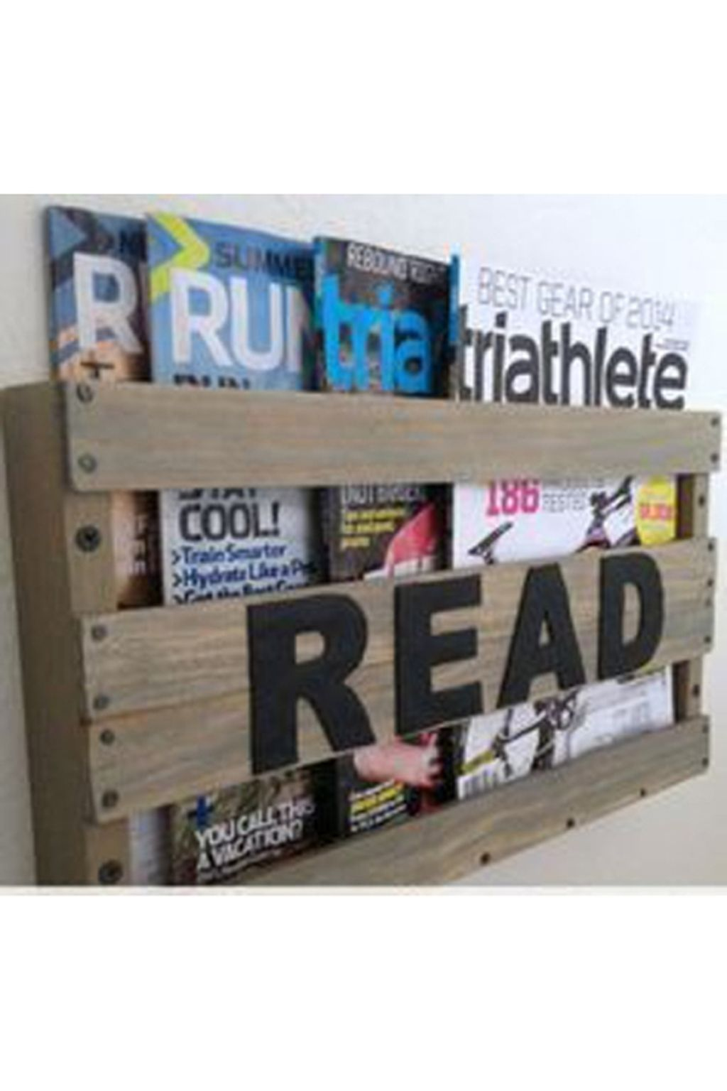 36 Attractive Diy Magazine Rack Design Ideas That You Will Like It