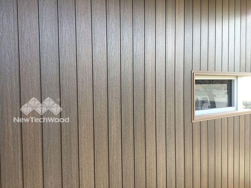 Newtechwood Shiplap Siding Installing Vertically Shiplap Siding Composite Decking Boards Wall Cladding