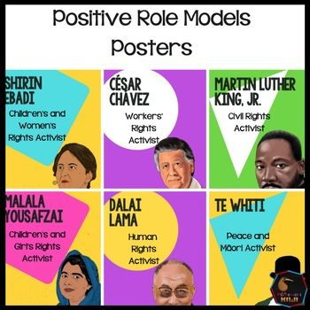 Positive Role Models Posters. Great inspiration Montessori Elementary, Malala Yousafzai, Role Models, Cosmic, Social Studies, Social Science, Montessori Elementary School, Sociology, Teaching Social Studies