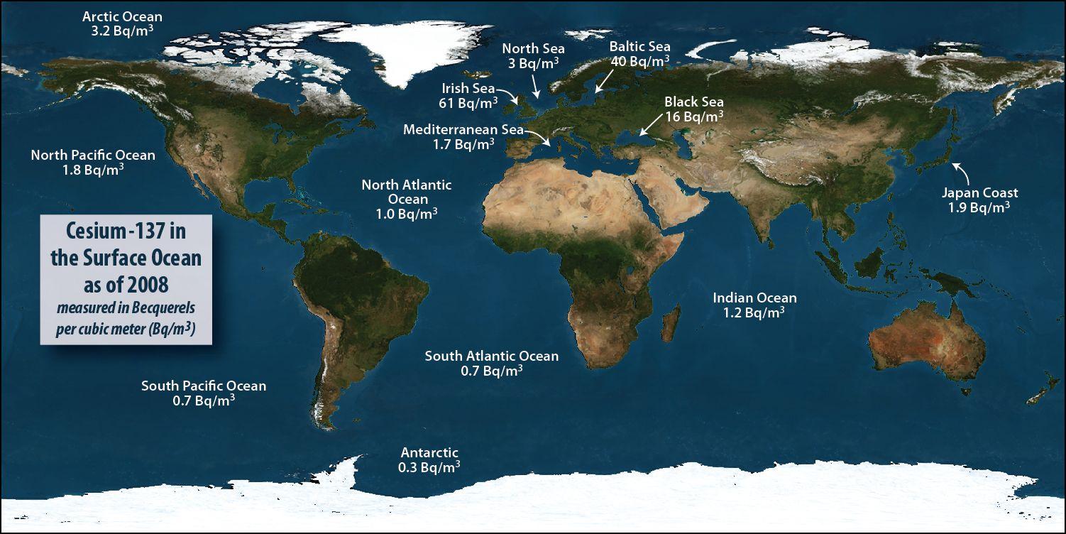 Fukushima S Radioactive Ocean Water Arrives At West Coast Ocean Ocean Science Fukushima