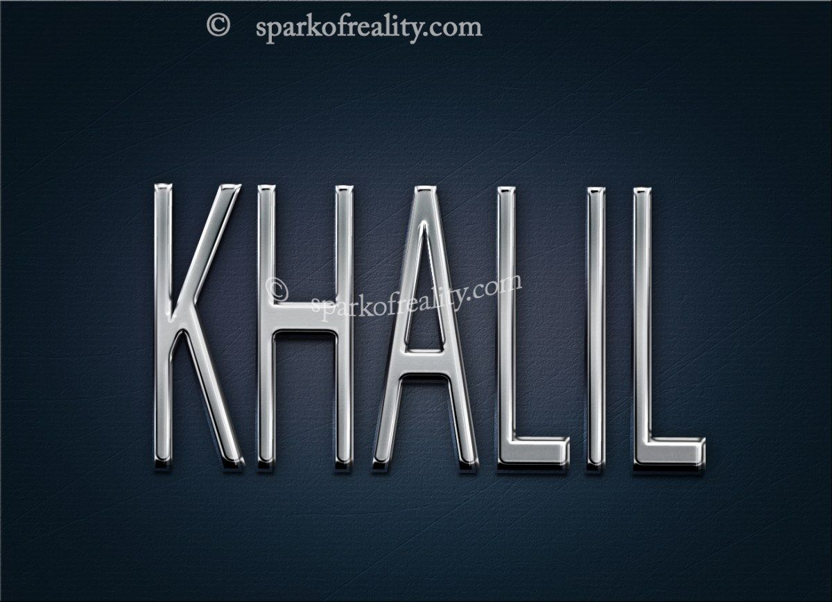 Khalil Hd Wallpapers 3d Muslim Boy Names Wallpaper
