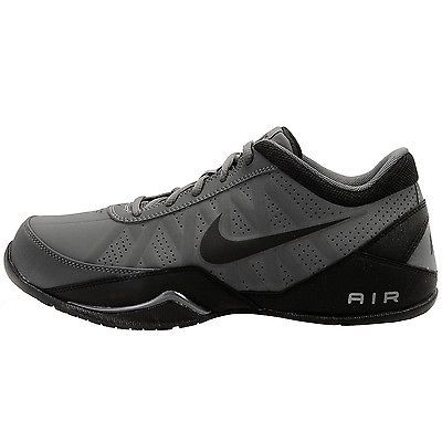 95a0be215e3b Nike Air Ring Leader Low Mens 488102-002 Grey Black Basketball Shoes Size 13