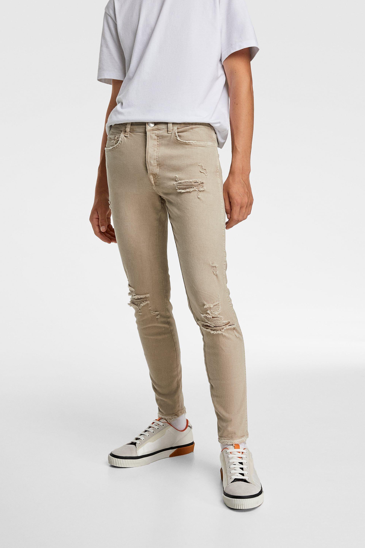 Jeans Skinny Rotos Ver Todo Jeans Hombre Zara Espana Jeans Skinny Skinny Jeans