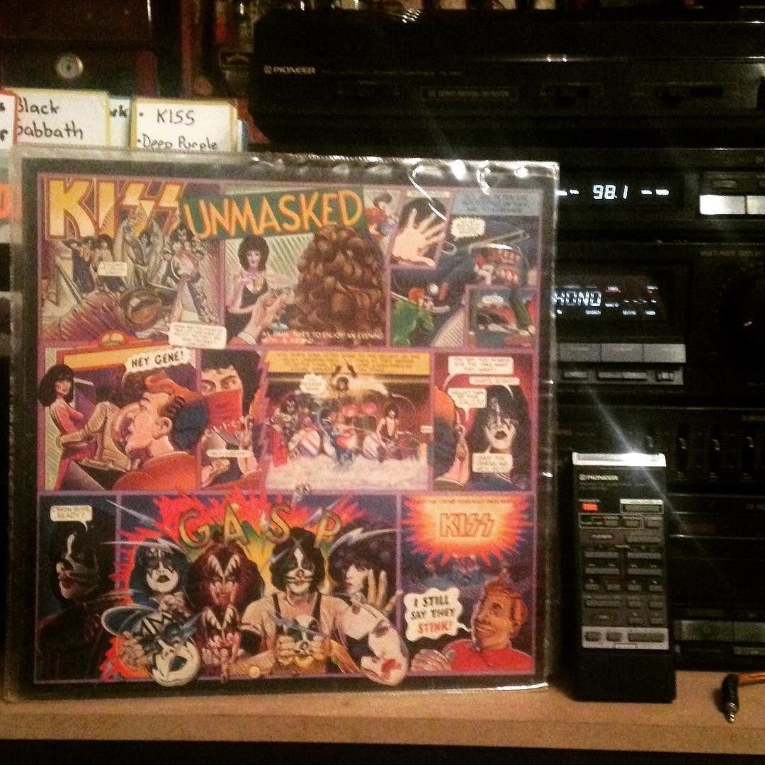 Kiss Kissunmasked Unmasked Record Vinyl Vinylclub Vinyllife