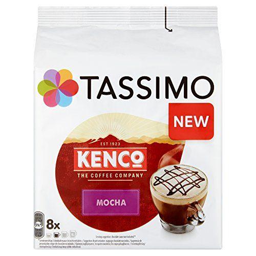 Tassimo Kenco Mocha Coffee Capsules, (Pack Of 5, Total 40