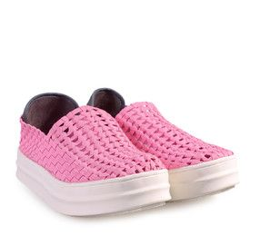 f921c4a8ff1 FRED Pink Flatform Sneakers. Γυναικεία ροζ sneakers με υπερυψωμένη σόλα.