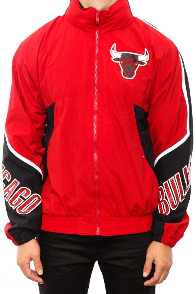 MITCHELL & NESS Chicago Bulls Windbreaker jacket | Fashion (shoes ...