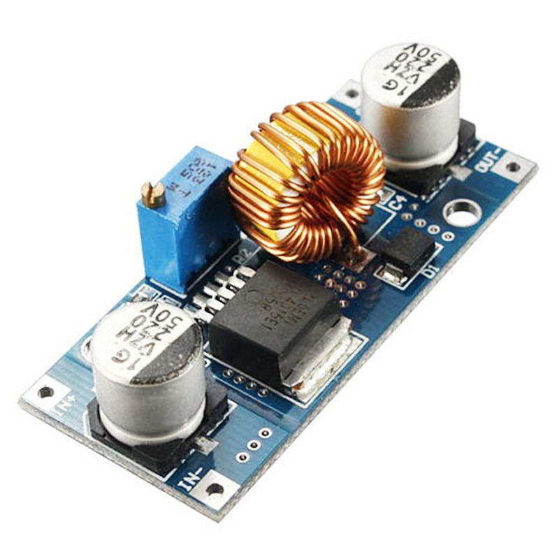 5a 75w Xl4015 Dc Dc Converter Adjustable Step Down Module 4 0 38v To 1 25v 36v Diy Adjustable Power Supply Power Supply Dc Dc Converter Converter