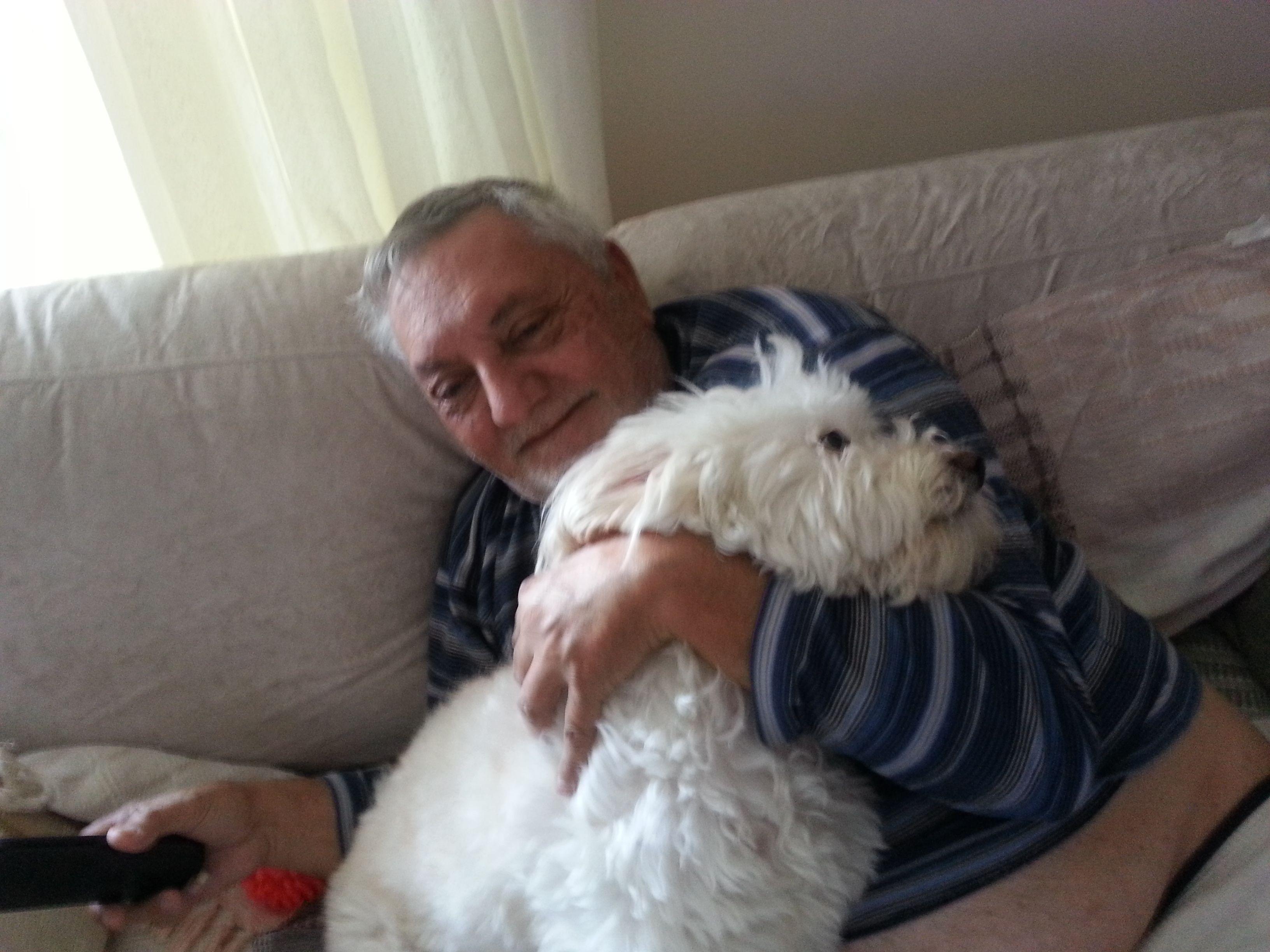 O vovô também te amava muito,Floquinho.....