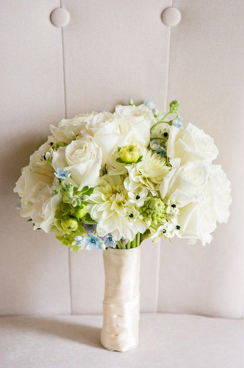 Let your photographer take a shot of your bouquet outside of the room where you are getting ready. Bonnie + Sunny = Happy Wedding at the Falkirk Estate » Fucci's Photos of Boston | Boston Wedding Photographer