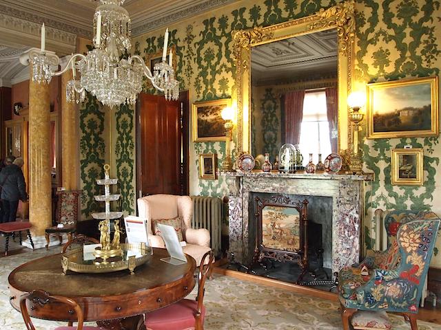 The Morning Room - Arlington Court, Nr Barnstaple, North Devon, UK. A National Trust Property.